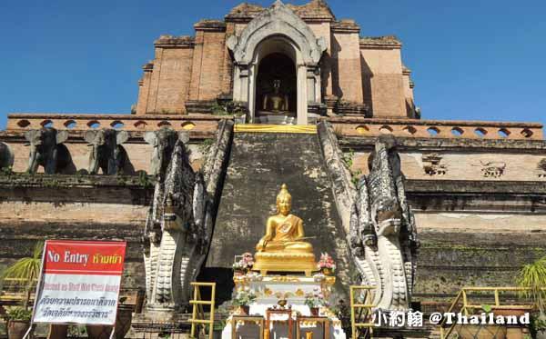 清邁佛寺Wat Chedi Luang柴迪隆寺(聖隆骨寺)1.jpg