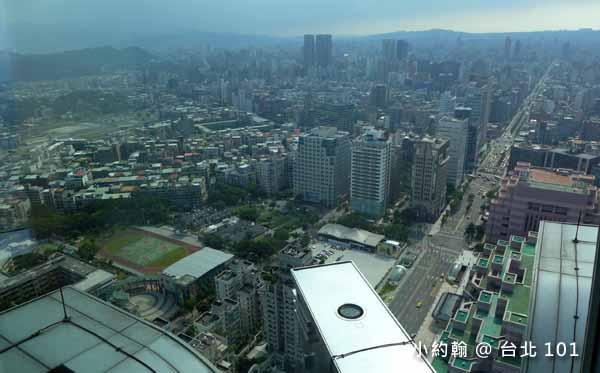 台灣最高星巴克喝咖啡看風景台北101大樓35F6.jpg
