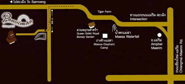 Panviman Chiang Mai Spa Resort清邁Spa度假村 map.jpg