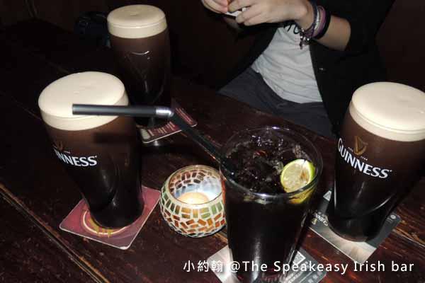 The Speakeasy Irish bar愛爾蘭酒吧,Guinness健力士醇黑生啤酒.jpg