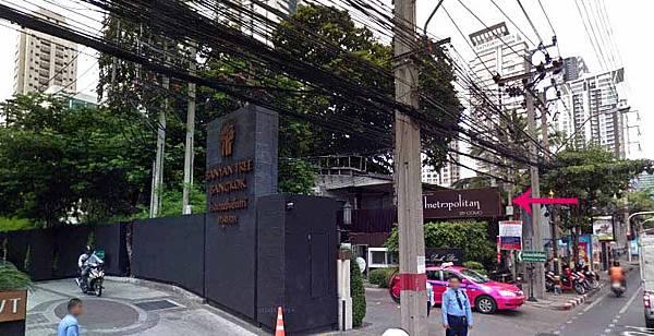曼谷大都會飯店Metropolitan by COMO Bangkok@地鐵Lumpini.jpg