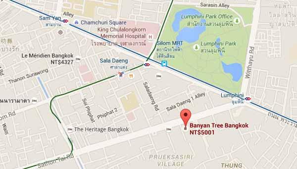 Banyan Tree Bangkok曼谷悅榕莊飯店map.jpg