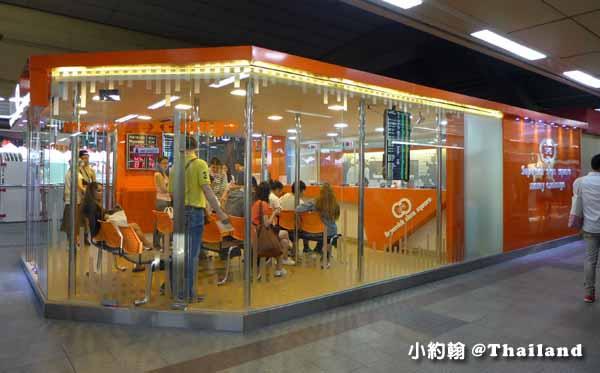 泰國曼谷Superrich Money Exchange(橘色SPR)BTS Siam Branch