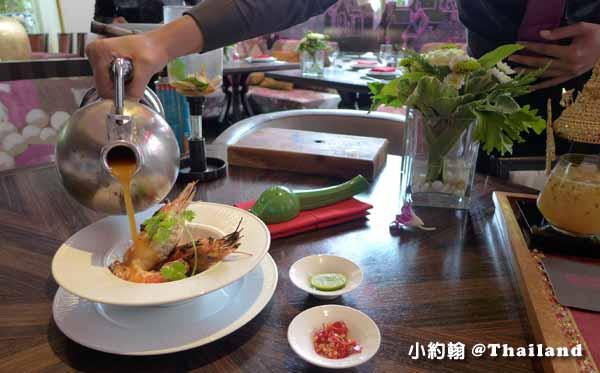 泰國曼谷OSHA Bangkok曼谷歐沙泰式時尚料理餐廳 海鮮酸辣湯3.jpg