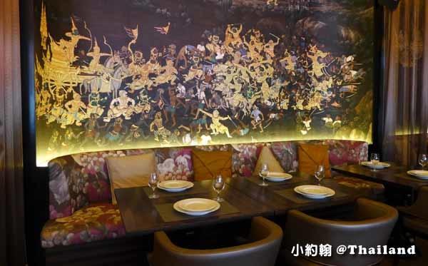 泰國曼谷OSHA Bangkok曼谷歐沙泰式時尚料理餐廳 壁畫.jpg