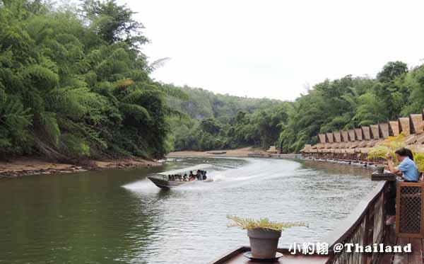 搭小巴到北碧府Kanchanaburi 桂河綠色環保旅遊