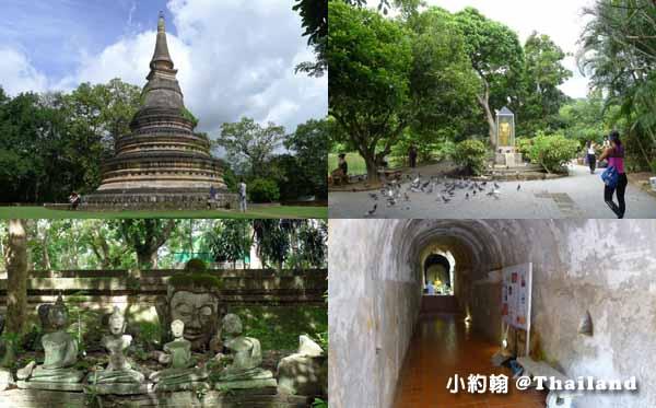 清邁悟孟寺Wat Umong Temple無夢寺