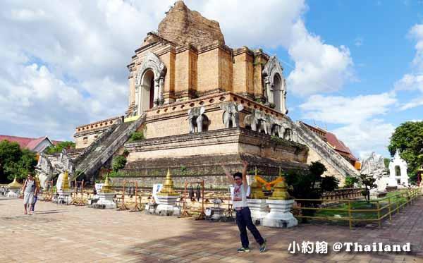 清邁一個人蜜月旅行 柴迪隆寺Wat Chedi Luang