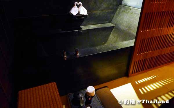 清邁按摩SAP館Anantara Spa Massage Chiang Mai按摩館房間浴缸.jpg