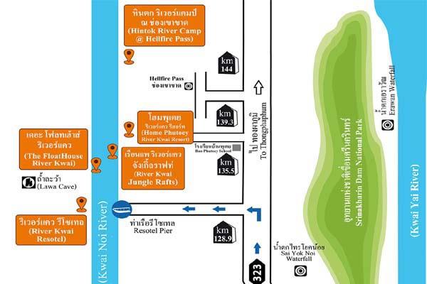 Home Phutoey River Kwai  Jungle Rafts Hin Tok River Camp MAP.jpg