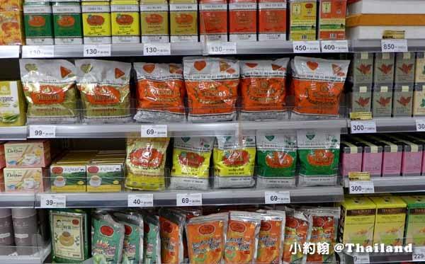曼谷Eathai超市泰國必買商品大集合Central Embassy手標紅茶奶茶.jpg