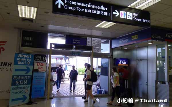 清邁機場申辦泰國SIM卡手機上網,搭計程車或小巴到飯店說明6.jpg