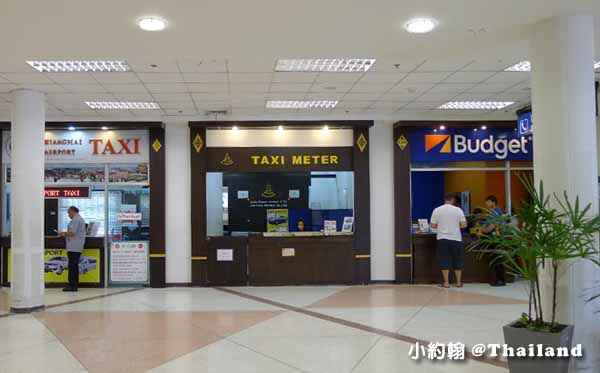 清邁機場申辦泰國SIM卡手機上網,搭計程車或小巴到飯店說明5.jpg
