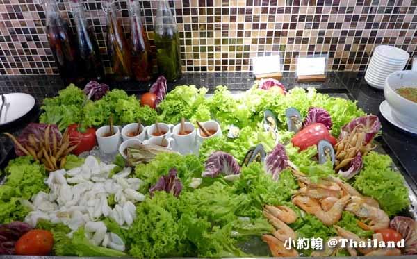 曼谷捷運Chit Lom站Mango 99午餐469元吃到飽餐廳@Arnoma Hotel海鮮.jpg
