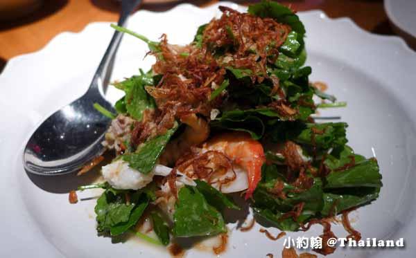Nahm第一名的泰式料理餐廳Metropolitan Bangkok鮮蝦.jpg