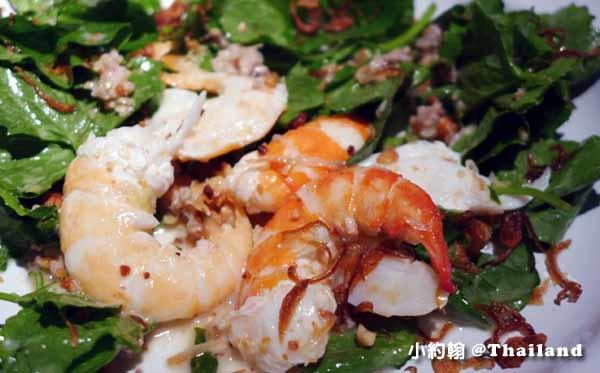 Nahm第一名的泰式料理餐廳Metropolitan Bangkok鮮蝦2.jpg