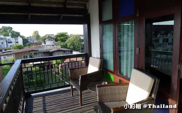 De Lanna Hotel清邁古城德蘭納飯店Wat Phra Singhh12陽台.jpg