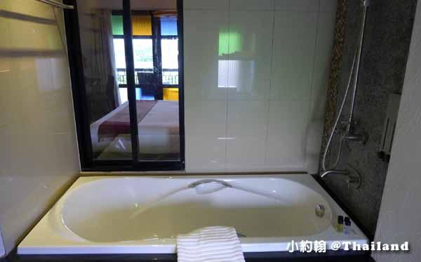 De Lanna Hotel清邁古城德蘭納飯店Wat Phra Singhh17浴缸.jpg