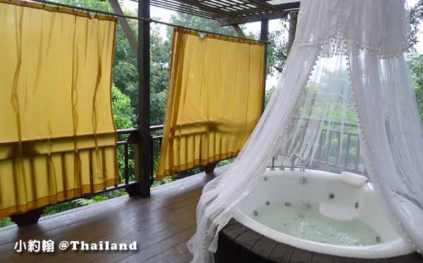 Panviman Chiang Mai Spa Resort清邁高山天堂Spa度假村飯店 按摩浴缸.jpg