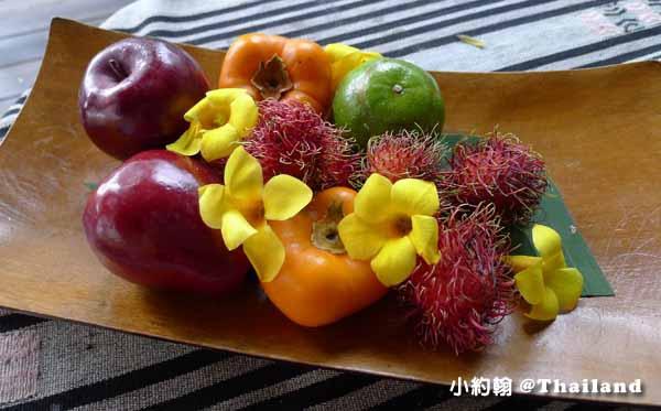 Panviman Chiang Mai Spa Resort清邁高山天堂Spa度假村飯店 迎賓水果.jpg