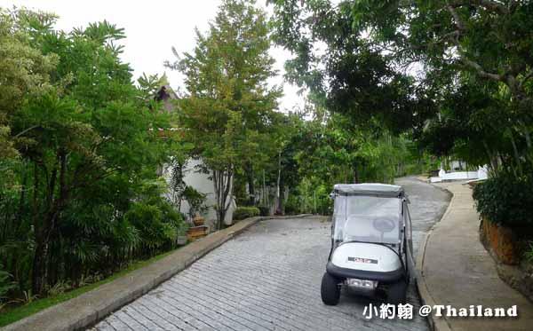Panviman Chiang Mai Spa Resort清邁高山天堂Spa度假村飯店 高爾夫球車.jpg