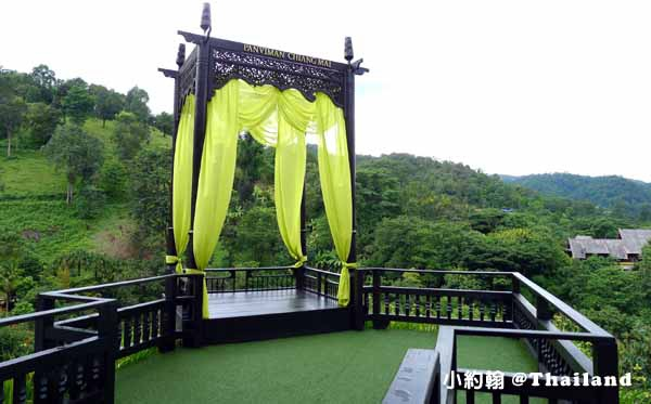 Panviman Chiang Mai Spa Resort招牌的高空涼亭