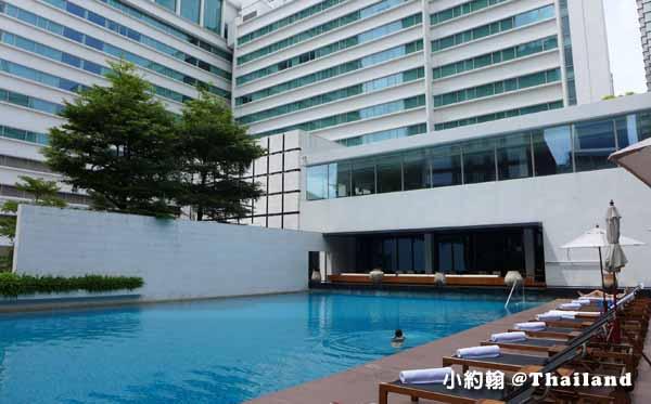 Metropolitan Bangkok Hotel曼谷大都會飯店11泳池.jpg