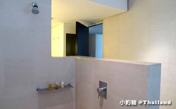 Metropolitan Bangkok Hotel曼谷大都會飯店房間 淋浴間.jpg