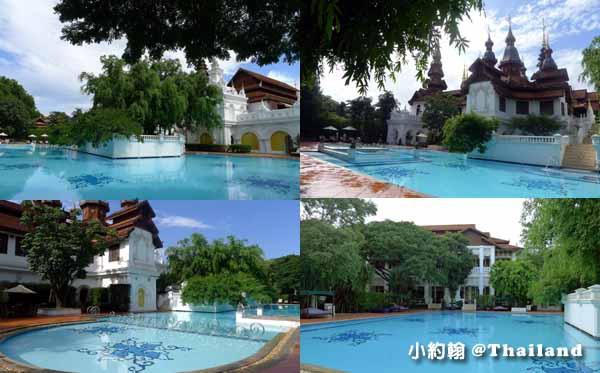 Dhara Dhevi Hotel Chiang Mai頂級奢華渡假村-超大泳池區.jpg
