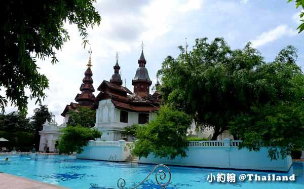 Dhara Dhevi Hotel Chiang Mai頂級奢華渡假村3-4泳池區.jpg
