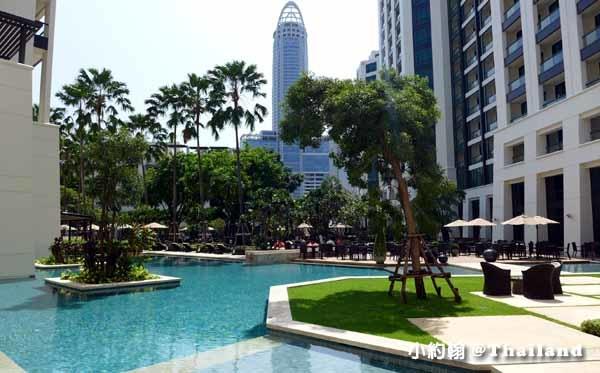 Siam Kempinski Hotel Bangkok曼谷暹羅凱賓斯基飯店Garden & Pool1.jpg