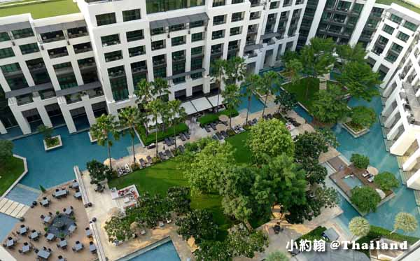 Siam Kempinski Hotel Bangkok曼谷暹羅凱賓斯基飯店綠洲花園