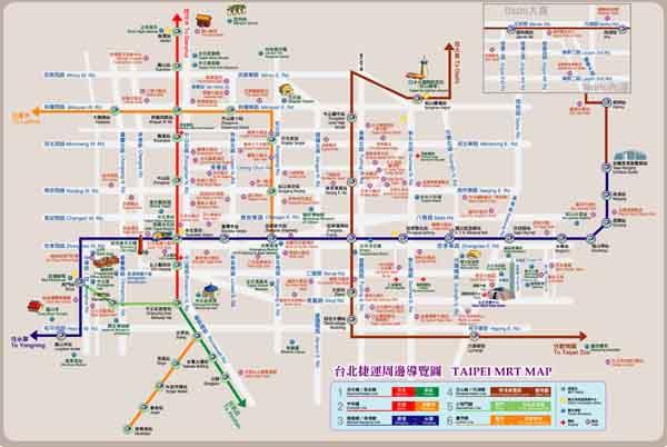 Taipei MRT (mass rapid transit systemTaipei Metro_MapSS