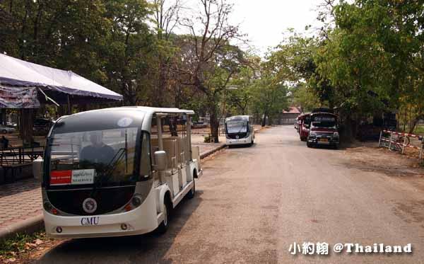 清邁大學Chiang Mai University(CMU)遊園車,電影泰冏1.jpg