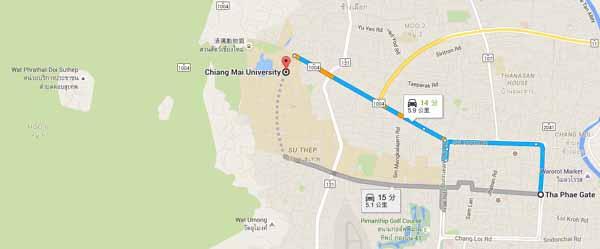 Chiang Mai University(CMU) 清邁大學MAP