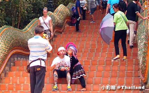 清邁必拜素帖寺Wat Phra That Doi Suthep雙龍寺-泰北民族.jpg