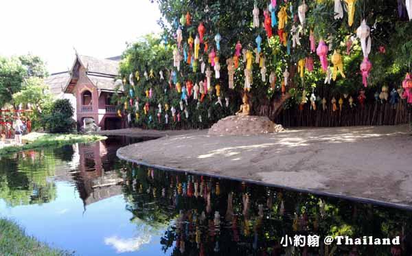 泰國清邁Wat Phan Tao盼道寺Wat Pan Tao鑄佛場Loy Krathong水燈節3.jpg