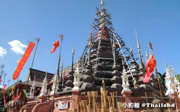 泰國清邁Wat Phan Tao盼道寺Wat Pan Tao鑄佛場Loy Krathong水燈節2.jpg