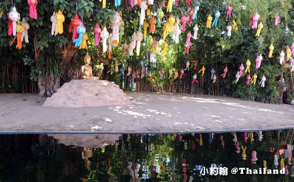 泰國清邁Wat Phan Tao盼道寺Wat Pan Tao鑄佛場Loy Krathong水燈節4.jpg
