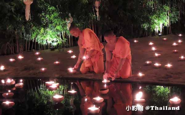 泰國清邁Wat Phan Tao盼道寺Wat Pan Tao鑄佛場Loy Krathong水燈節5.jpg