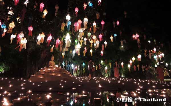 泰國清邁Wat Phan Tao盼道寺Wat Pan Tao鑄佛場Loy Krathong水燈節6.jpg