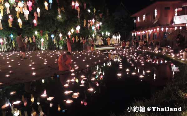 泰國清邁Wat Phan Tao盼道寺Wat Pan Tao鑄佛場Loy Krathong水燈節7.jpg