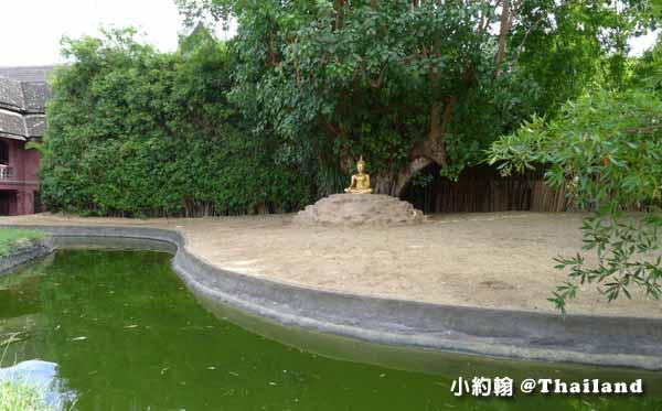 泰國清邁Wat Phan Tao盼道寺Wat Pan Tao鑄佛場2.jpg