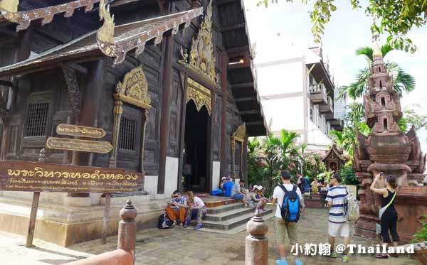 泰國清邁Wat Phan Tao盼道寺Wat Pan Tao鑄佛場.jpg