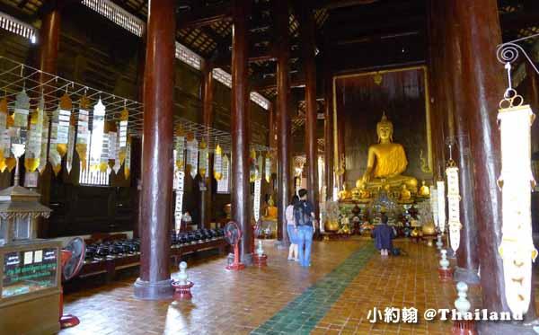 泰國清邁Wat Phan Tao盼道寺Wat Pan Tao鑄佛場1.jpg