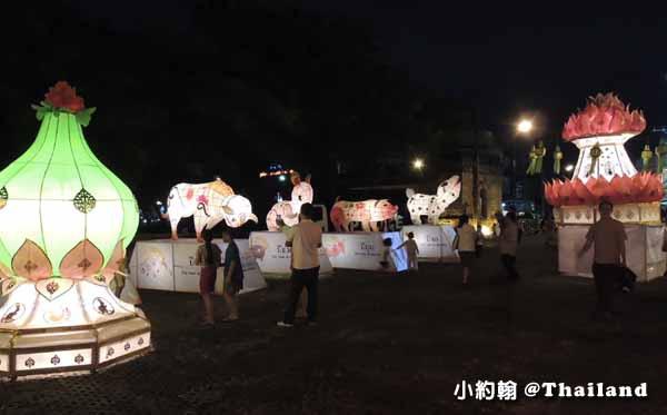 泰國水燈節Loi Krathong北門 大燈籠秀.jpg