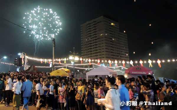 泰國水燈節Loi Krathong花車大遊行,蘭納俊男美女選秀會8.jpg