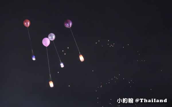 泰國水燈節Loi Krathong氣球小天燈