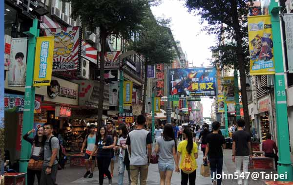 Taipei Travel Guide-Ximenting
