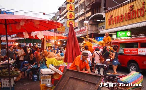 清邁中國城Talad Ton Lamyai龍眼達叻夜市Mae Ping River0.jpg